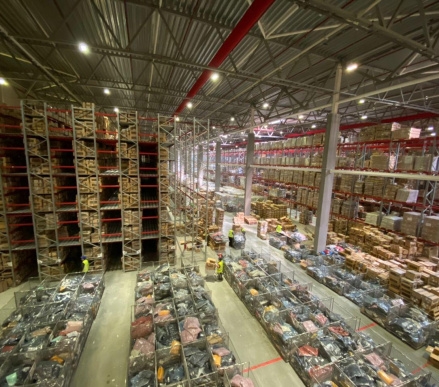 Warehouses for online stores and marketplaces, Fulfillment.