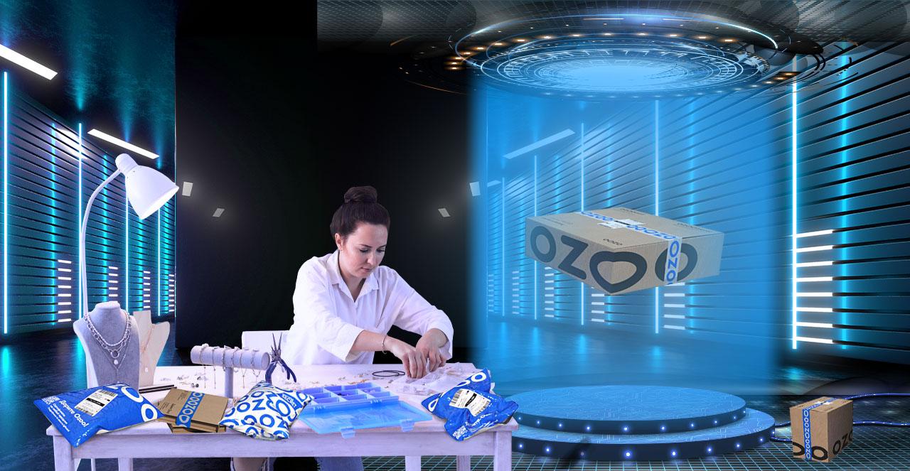 (Русский) C 30 сентября 2021 года самозанятые могут продавать товар не только на Вайлдберриз, но и на маркетплейсе OZON.